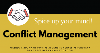Spice up your mind – CONFLICT MANAGEMENT