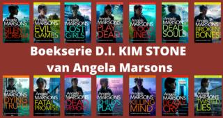 Boekserie D.I. KIM STONE van Angela Marsons.